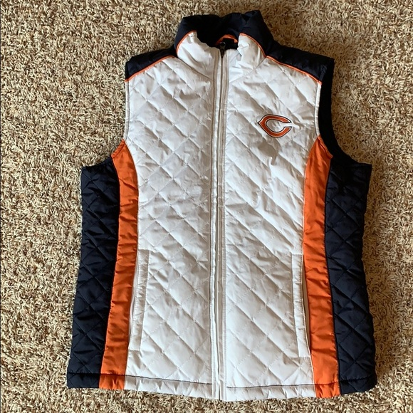 NFL Jackets & Blazers - Chicago Bears Puffer Vest- Medium